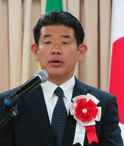 五十嵐県議会議長