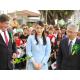 マリリア=三笠宮殿下と同じくイッペー植樹=眞子さまの握手に市民感激=市広報「忘れられない日曜日」