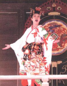 ソプラノ歌手の鶴澤美枝子さん