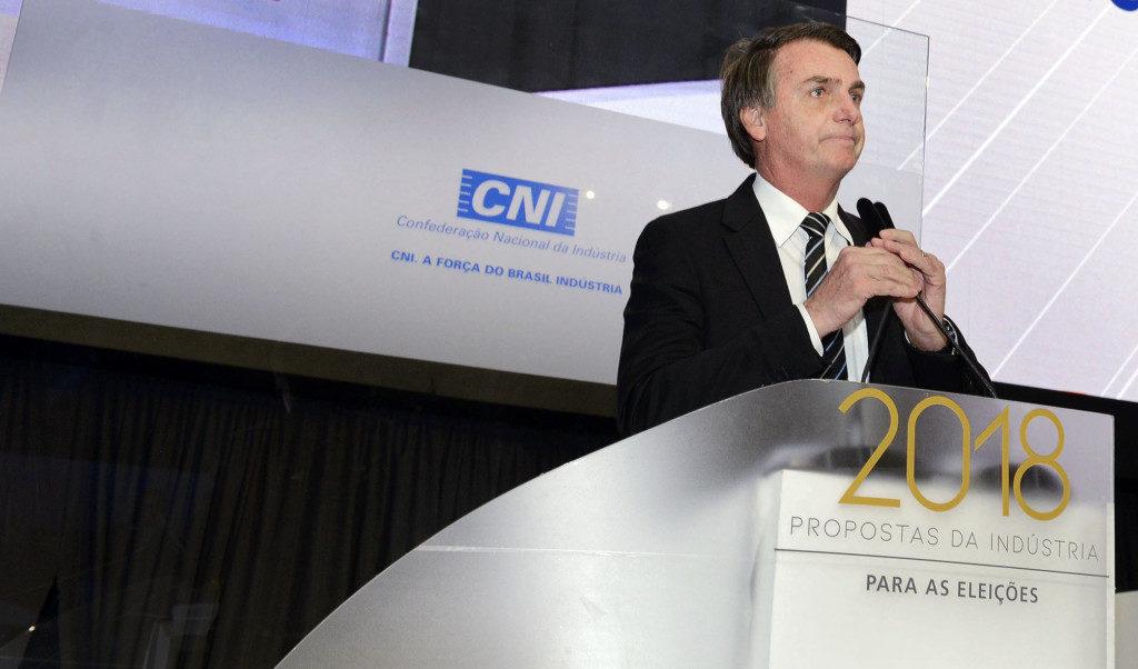 ボウソナロ氏(Miguel Ângelo/CNI)
