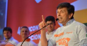 13人の大統領選立候補者中、最大資産を保有するジョアン・アモエド氏(Rovena Rosa / Agencia Brasil)