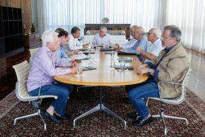 ロライマ州での抗争などを受けて開かれた緊急会議(Alan Santos/PR)