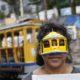 リオ市=事故から7年、名物路面電車の今=全面復旧を求める住民が行進