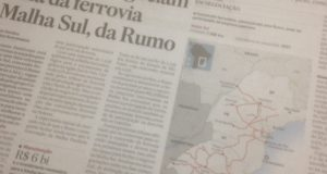 「ブラジル住友商事がルモ社と交渉」と報じる、30日付エスタード紙