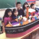 ミカ幼稚園の作品展覧会=日本移民題材に笠戸丸や家など