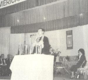 第24世門主の巡教の様子(83年、『南米教団六0年史』より)