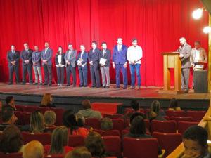 近隣の市長や代表が集まった開幕式