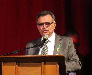 サンジョアン・ダ・ボア・ヴィスタ市のヴァンデルレイ・ボルゲス・デ・カルヴァーリョ市長