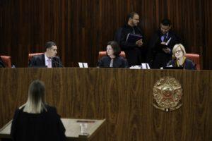 8月31日のTSEでの審理(Rodrigues Pozzebom/Agência Brasil)