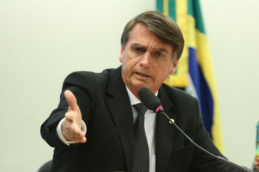 ジャイール・ボルソナロ(PSL)候補(Foto: Fabio Rodrigues Pozzebom/Agência Brasil (09/11/2016))