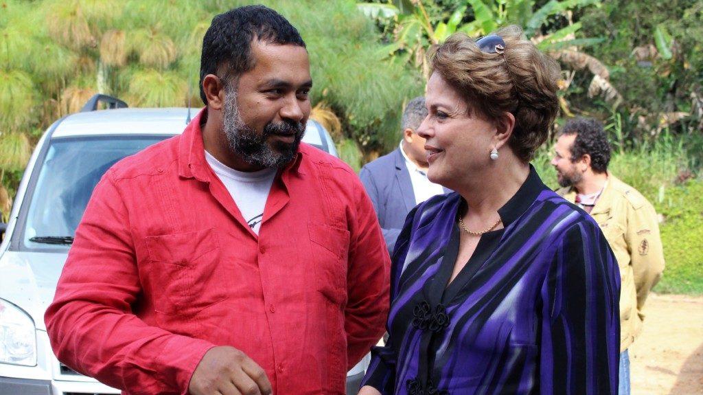 ジウマ氏Leonardo Fernandes/Brasil de Fato