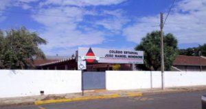 事件が起きた高校(Divulgação)