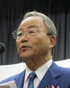 小野幸作県議会副議長
