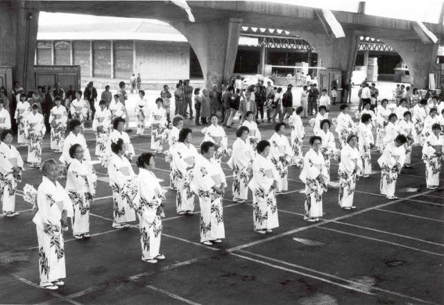 セアーザ内で盆踊り大会が行なわれた様子(BLOG DA CEAGESPより)