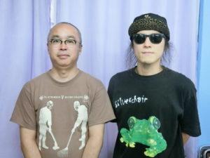 (左から)布施さん、金田実行委員長