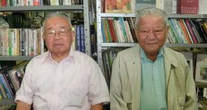 (左から)越智さん、具志堅さん