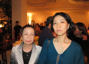 娘の仁木曄子さんと孫の紀花さん