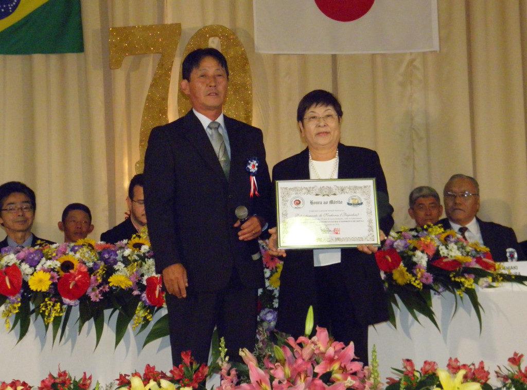 部門別功労者では婦人会も表彰された
