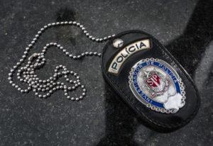 サンパウロ州市警の紋章(参考画像・Alexandre Carvalho/A2img)