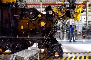南部パラナ州の農業機械製造工場の様子(参考画像・Ricardo Almeida/ANPr)