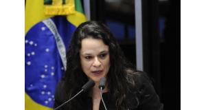 ジャナイーナ氏(Edilson Rodrigues/Agência Senado)
