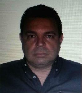25日に亡くなった警備会社社長のレアル・ジュニオル容疑者(Polícia Civil/Divulgação)