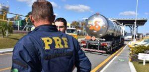 国道を使っての銃や薬物の流通にメを光らせる、ブラジル連邦国道警察(参考画像・PRF/Divulgação)
