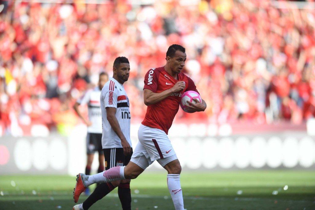 この日2得点の大活躍を見せた、ダミアン(Ricardo Duarte/Internacional)