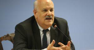 「ブラジルはいつでも対話に応じる準備が出来ている」と語る、外務省金融・経済担当官のロナウド・コスタ氏(Fabio Rodrigues Pozzebom/Agência Brasil)