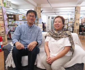 白井准教授と田代准教授