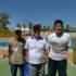 (左から)カンポ・グランデから参加した名嘉さん、永松さん、梅木さん