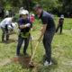 オイスカ、クーニャで植樹=総領事、コチア青年らも協力