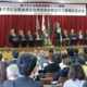 熊本県文化交流協会60周年祝う=54人の大型慶祝団迎え=田呂丸会長「留学生・研修生の存続を」