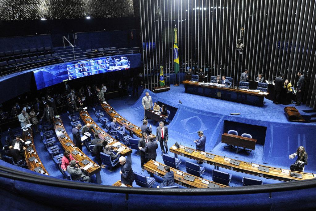 7日の上院本会議の様子(Jefferson Rudy/Agencia Senado)