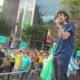 《ブラジル》22歳、初出馬で46万票!=カタギリ次期下議に直撃取材=奈良県人会でボランティアも