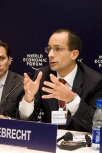 別荘改修の件などの裁判でも鍵となる証言を行っているマルセロ・オデブレヒト被告(Cicero Rodrigues/World Economic Forum 、15/04/2009)