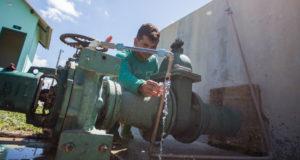 ブラジル北部アクレ州での水道設備工事の様子(参考画像・Arison Jardim/SecomAcre)