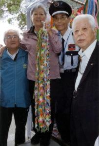 左から石井さん、清さん、内田さん、山本さん