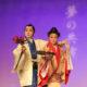 至極の芸、惜しげなく披露=具志堅師範と斉藤教師『夢の競演』=会館ぎっしり、爆笑喜劇も