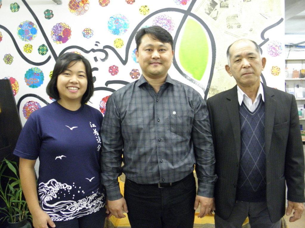 海藤副会長、馬欠場新会長、久保田さん