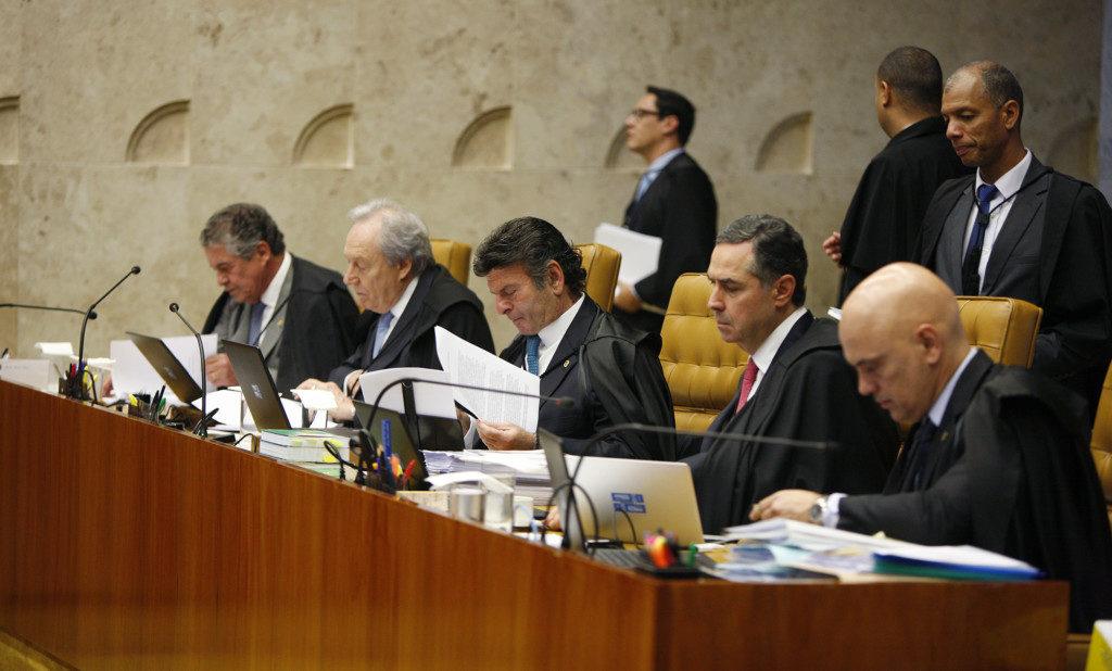 11月29日の最高裁審理の様子(Coutinho/SCO/STF)