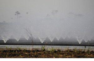 17年の水の使用量の52%は農業の灌漑用に使われた(Arquivo/Agência Brasil)