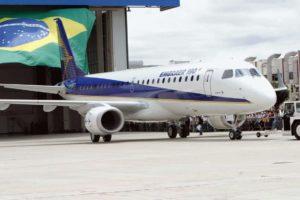 エンブラエル社の機体(参考画像・Antonio Milena/Ag. Brasil)