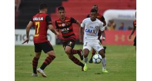 ロドリゴ(白のユニフォーム)(Ivan Storti/Santos FC)