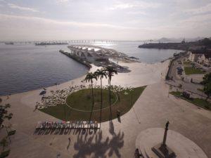コンデ海岸にある明日の博物館(Michel Filho/Prefeitura do Rio)