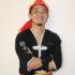 聖市の琉球國祭り太鼓で学ぶアメリカ出身の片岡恭介ロッキーさん