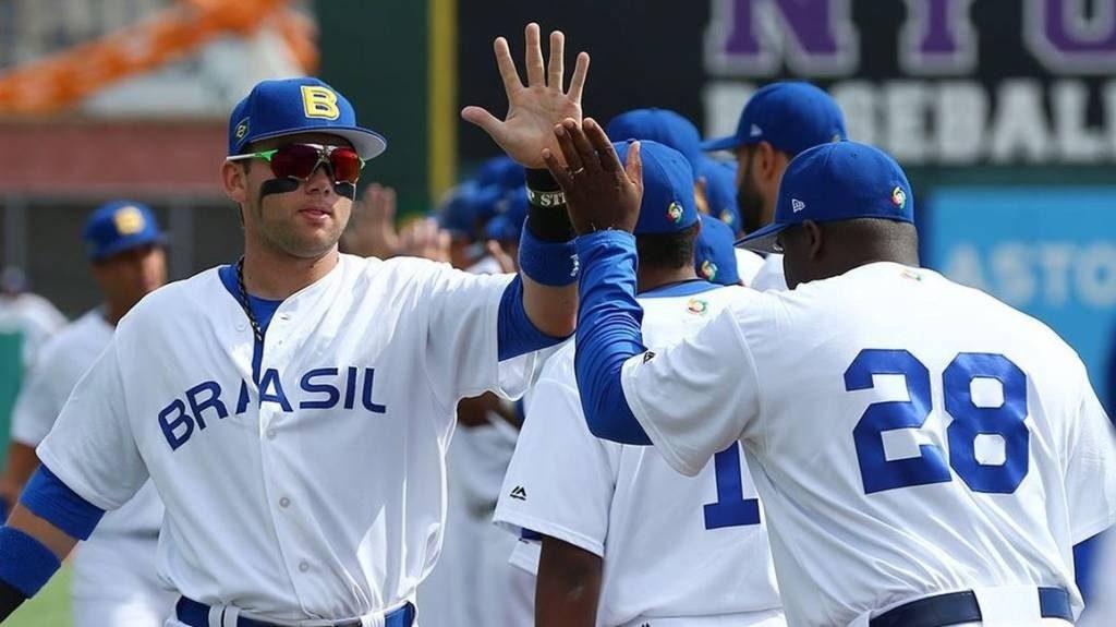 ブラジル代表チーム(提供・伯野球ソフトボール連盟)