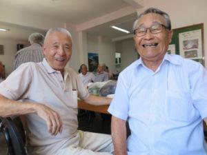 神代組の二人、左から佐々木さん、三沢さん