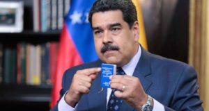 自国議会からも再選無効を宣言されたマドゥーロ大統領(Twitter de Maduro)