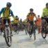 リオで行われた、自転車、歩行者、車の共生を呼びかけるイベント(Tomaz Silva/Ag. Brasil)